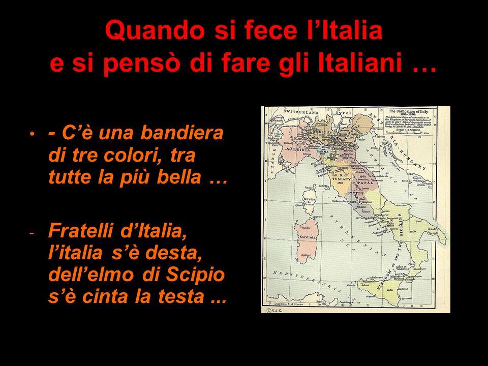 … E LA CAMPANIA …? Letimologia di Campania riconduce al campus, alla pianura: ma l80% del territorio regionale, diviso in 5 province, è collinare o mo