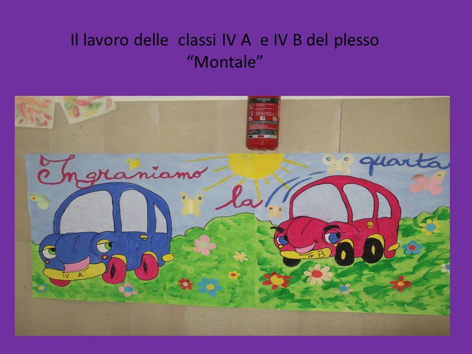 Il lavoro delle classi IV A e IV B del plesso Montale