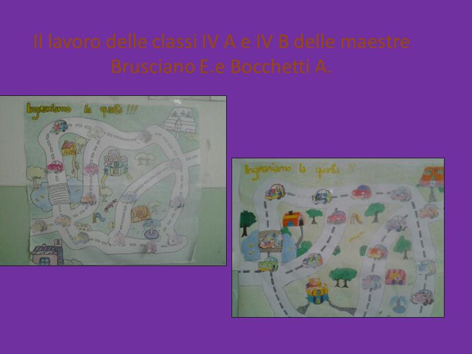 Il lavoro delle classi IV A e IV B delle maestre Brusciano E.e Bocchetti A.