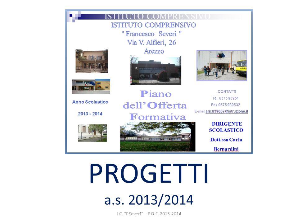 PROGETTI a.s. 2013/2014 I.C.
