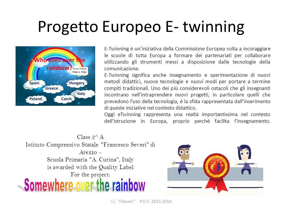 Progetto Europeo E- twinning I.C.