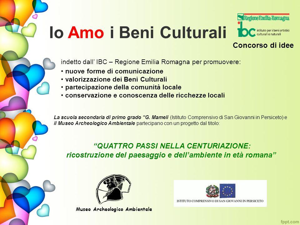 indetto dall IBC – Regione Emilia Romagna per promuovere: nuove forme di comunicazione valorizzazione dei Beni Culturali partecipazione della comunità