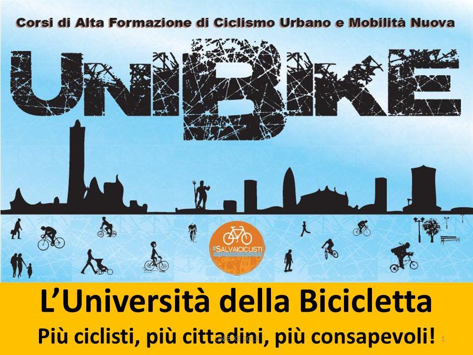 LUniversità della Bicicletta Più ciclisti, più cittadini, più consapevoli! 1UNIBIKE 2013
