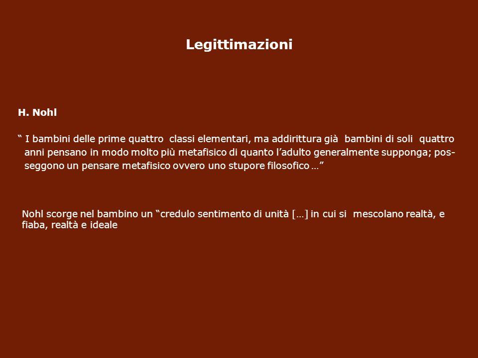 Legittimazioni H.