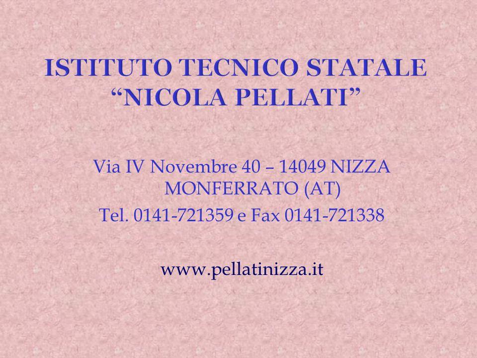 L ISTITUTO SUPERIORE N.PELLATI Invita gli allievi delle classi 3^ media e i loro genitori a visitare le proprie sedi SABATO 17 DICEMBRE 2011 e SABATO