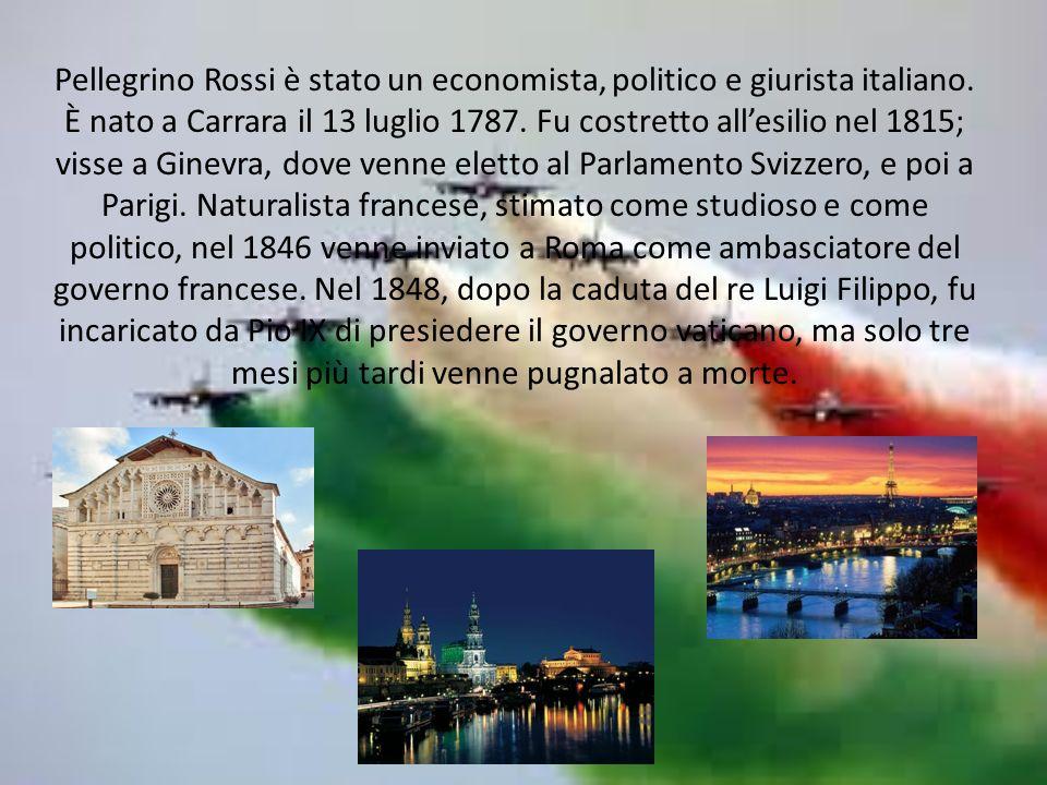 Pellegrino Rossi è stato un economista, politico e giurista italiano.
