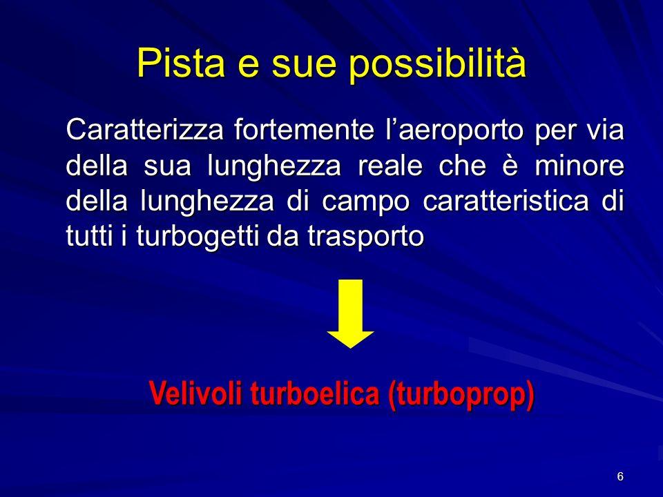 37 Lo scalo di Tortolì – Arbatax, una volta terminato ladeguamento strutturale dovrà operare per tutto lanno, attraendo vettori minori che operino su collegamenti nazionali verso i principali scali.