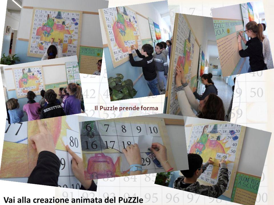 Il Puzzle prende forma Vai alla creazione animata del PuZZle