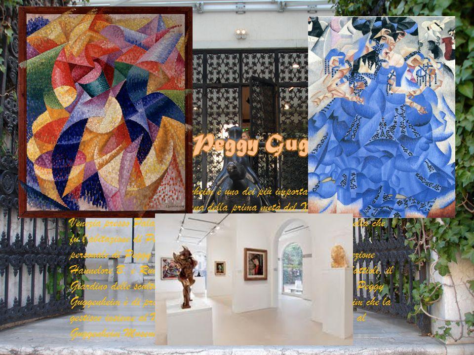 La Collezione Peggy Guggenheim è uno dei più importanti musei in Italia per l'arte europea ed americana della prima metà del XX secolo con sede a Vene