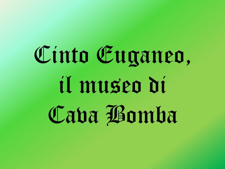 Cinto Euganeo, il museo di Cava Bomba