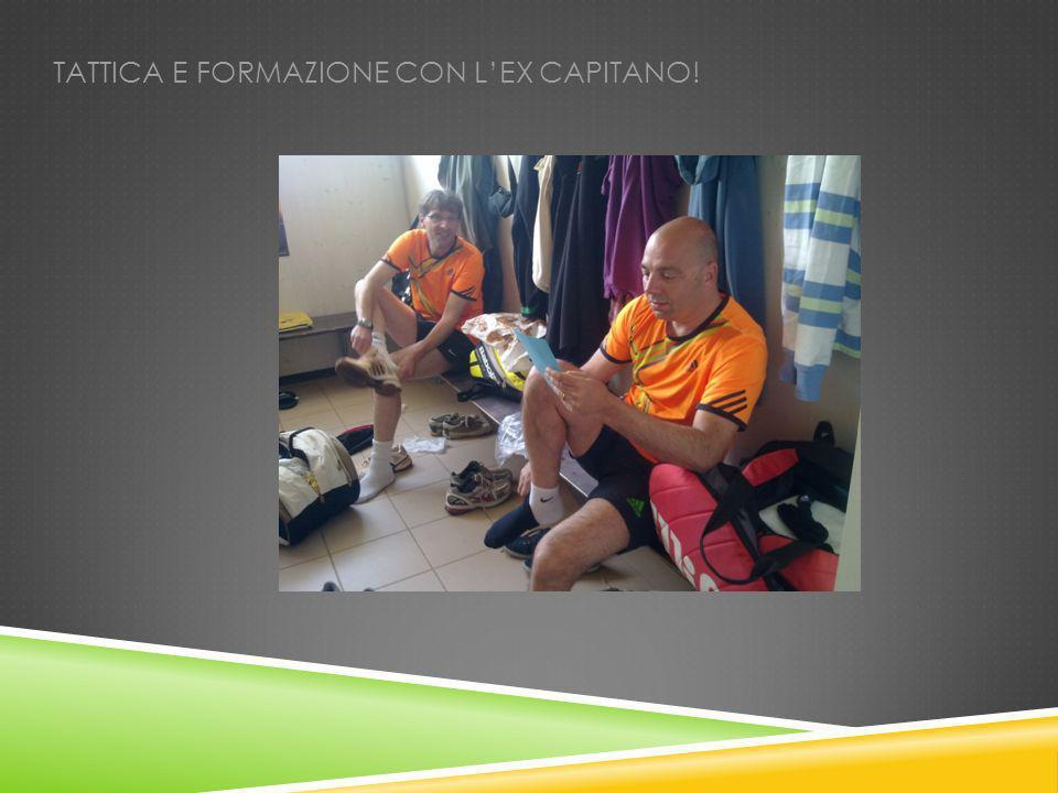 TATTICA E FORMAZIONE CON LEX CAPITANO!