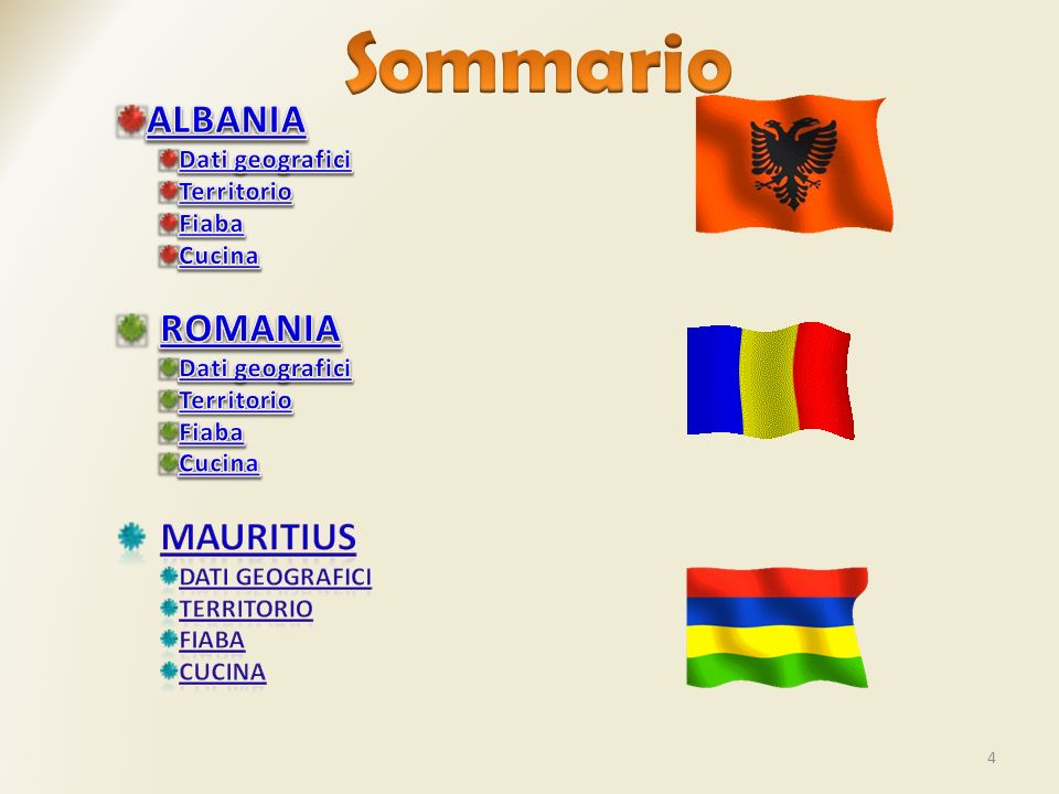 15 La bandiera della Romania è un tricolore composto da tre bande verticali uguali blu (dalla parte dell asta), gialla e rossa.