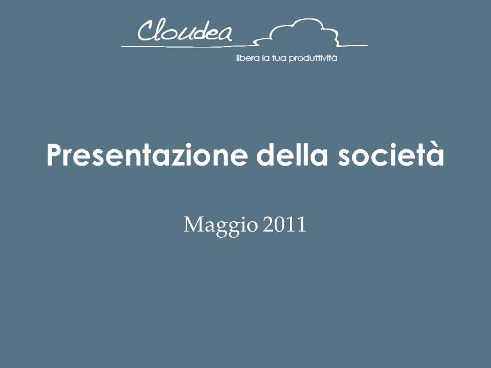 Presentazione della società Maggio 2011