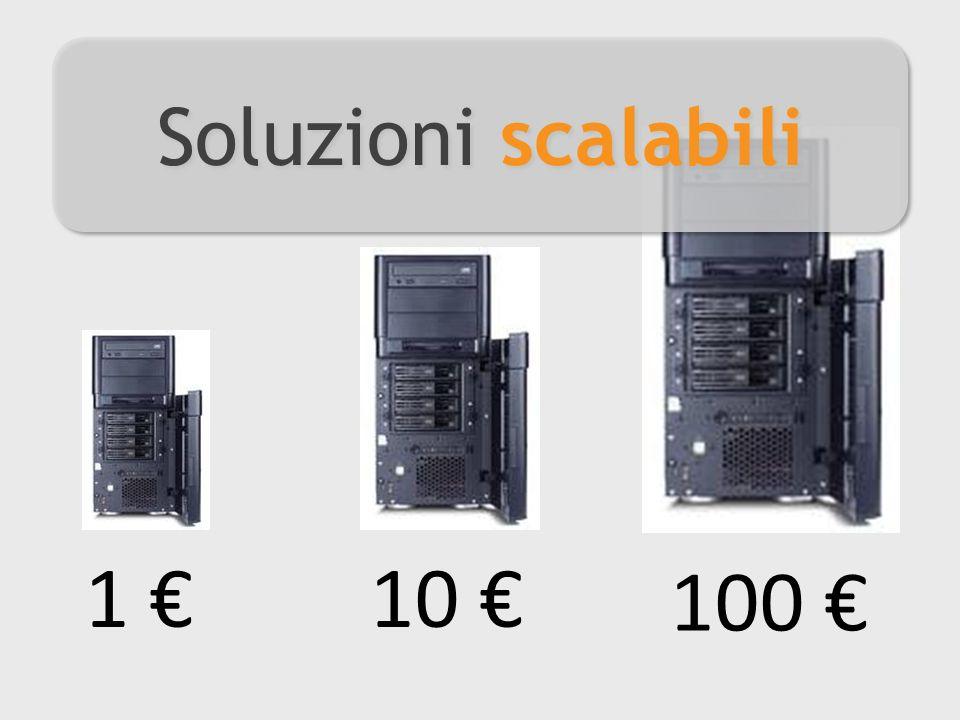 100 10 1 Soluzioni scalabili