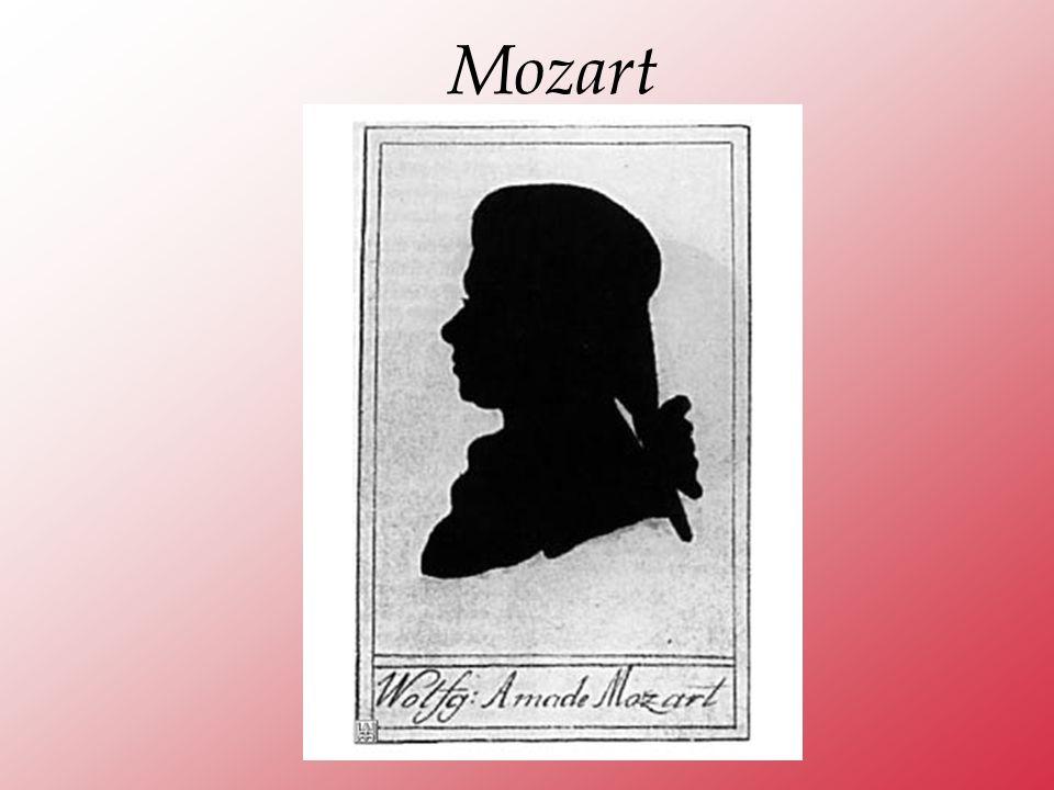 Abbiamo visto dove e quando Mozart ha vissuto la sua grande avventura umana.
