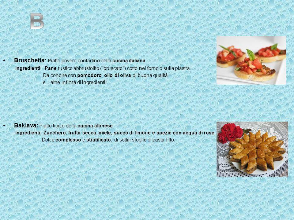 Bruschetta: Piatto povero contadino della cucina italiana Ingredienti: Pane rustico abbrustolito (
