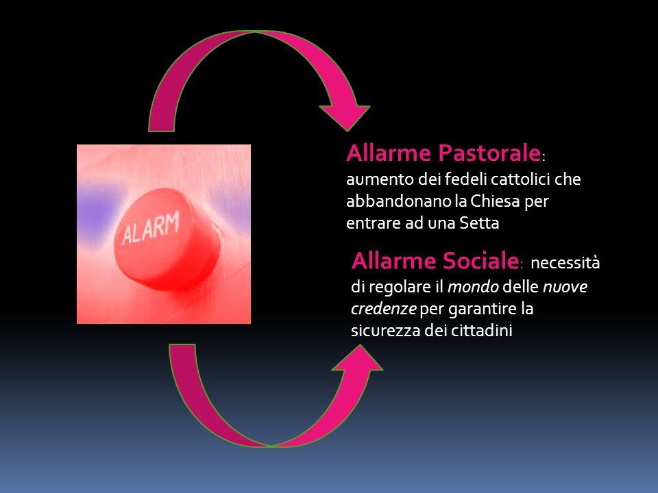 Terminologia Criterio Giuridico – Il rapporto italiano 5) Il perseguimento di obiettivi diversi da quelli dichiarati, se non addirittura di piani eversivi o destabilizzanti dissimulati dal pretesto religioso .