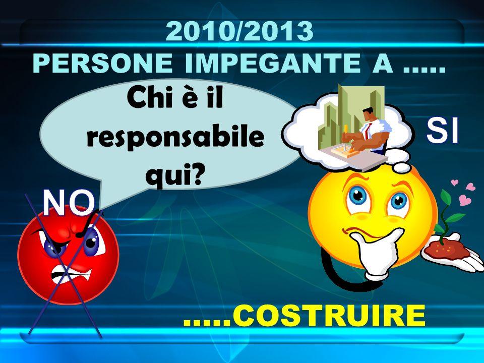 2010/2013 LA RETE DEI CONTATTI