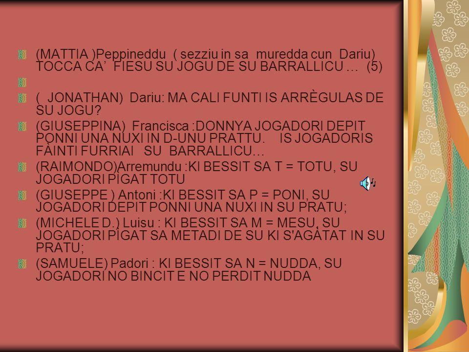 (GIULIA) Antonietta: MA NO EST PRUS BELLAS IMBALA SERRA SERRA.