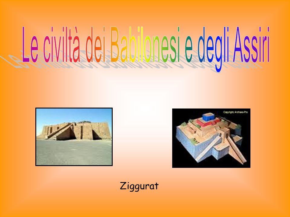 Gli Assiri conservavano il grano in grandi vasi di argilla coperti di bitume.
