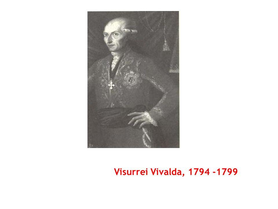 Visurrei Vivalda, 1794 -1799