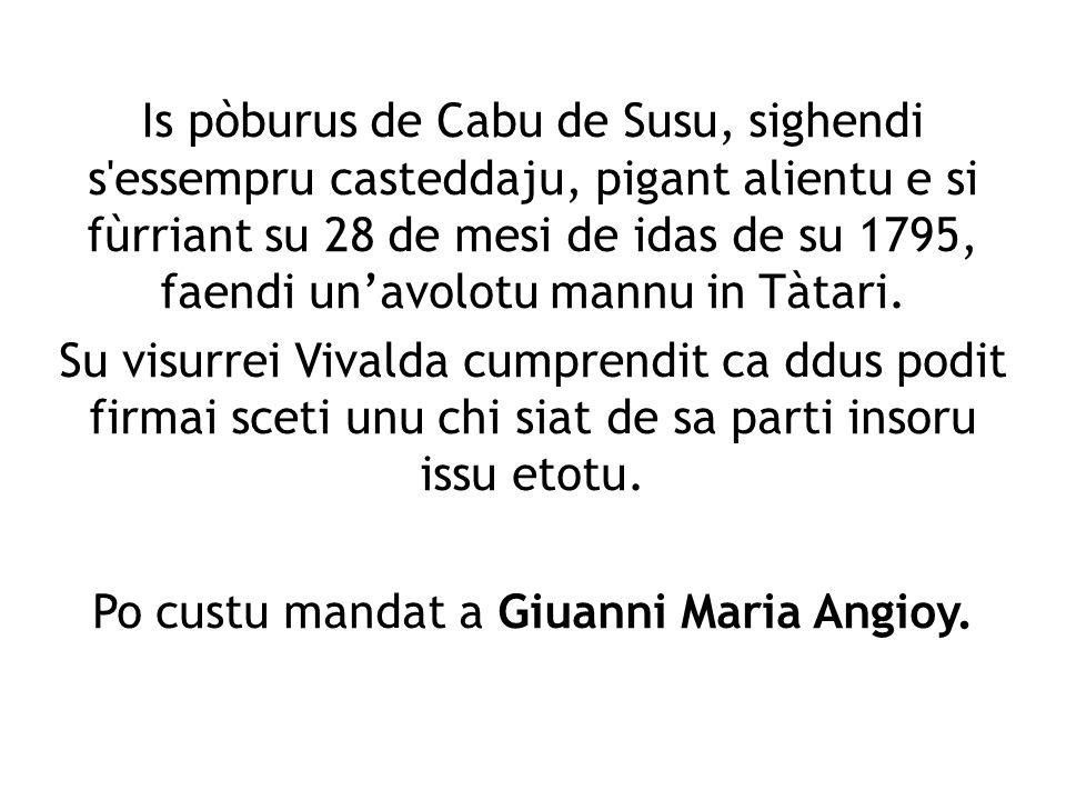 Is pòburus de Cabu de Susu, sighendi s'essempru casteddaju, pigant alientu e si fùrriant su 28 de mesi de idas de su 1795, faendi unavolotu mannu in T