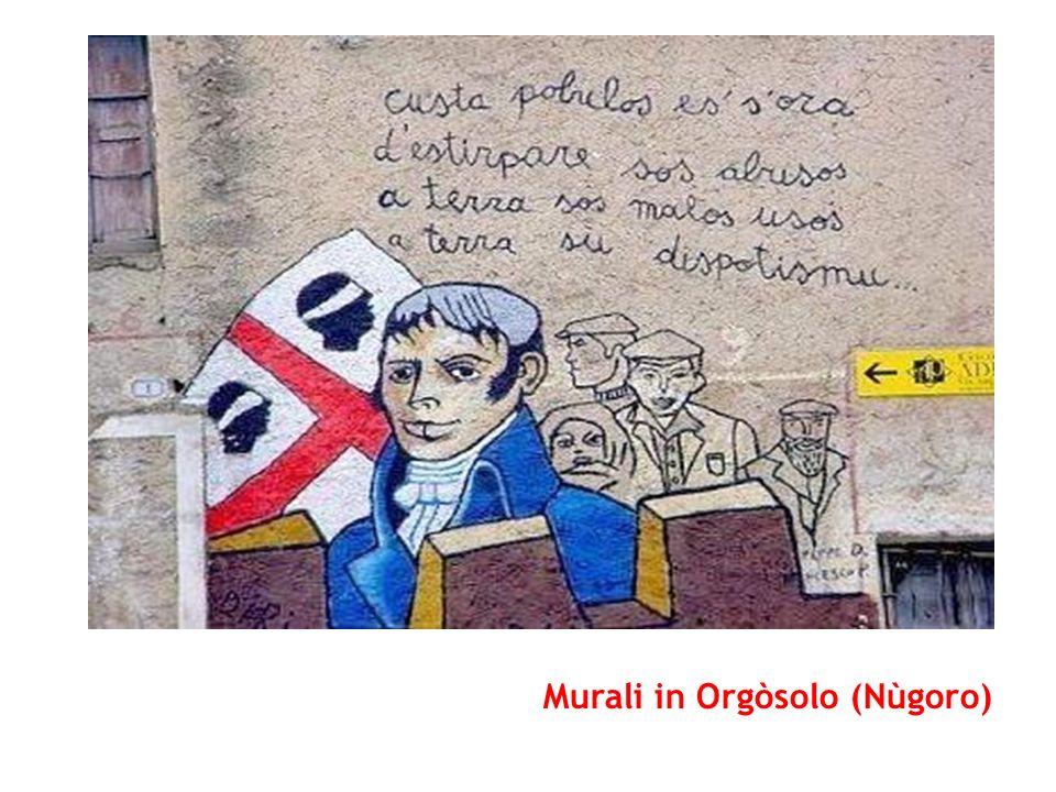 Murali in Orgòsolo (Nùgoro)