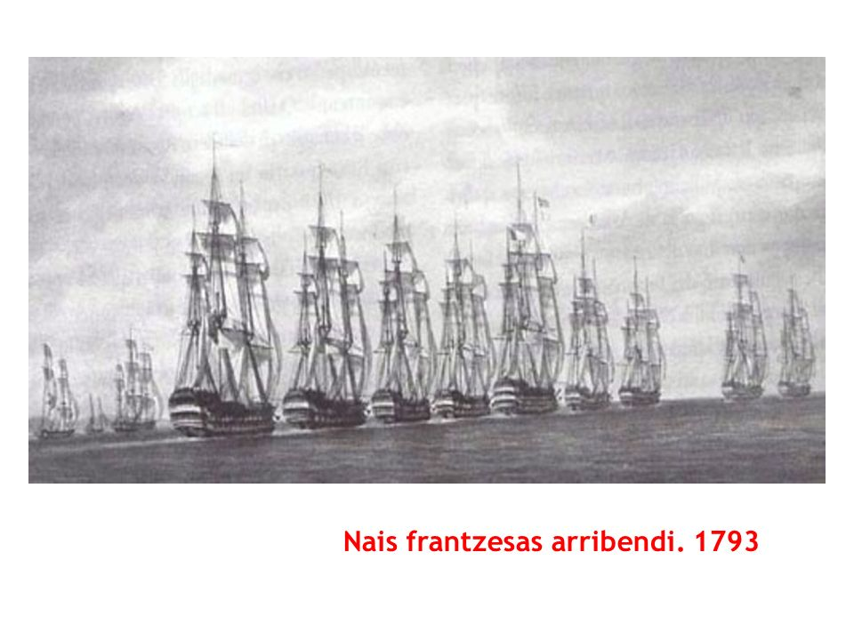 Nais frantzesas arribendi. 1793