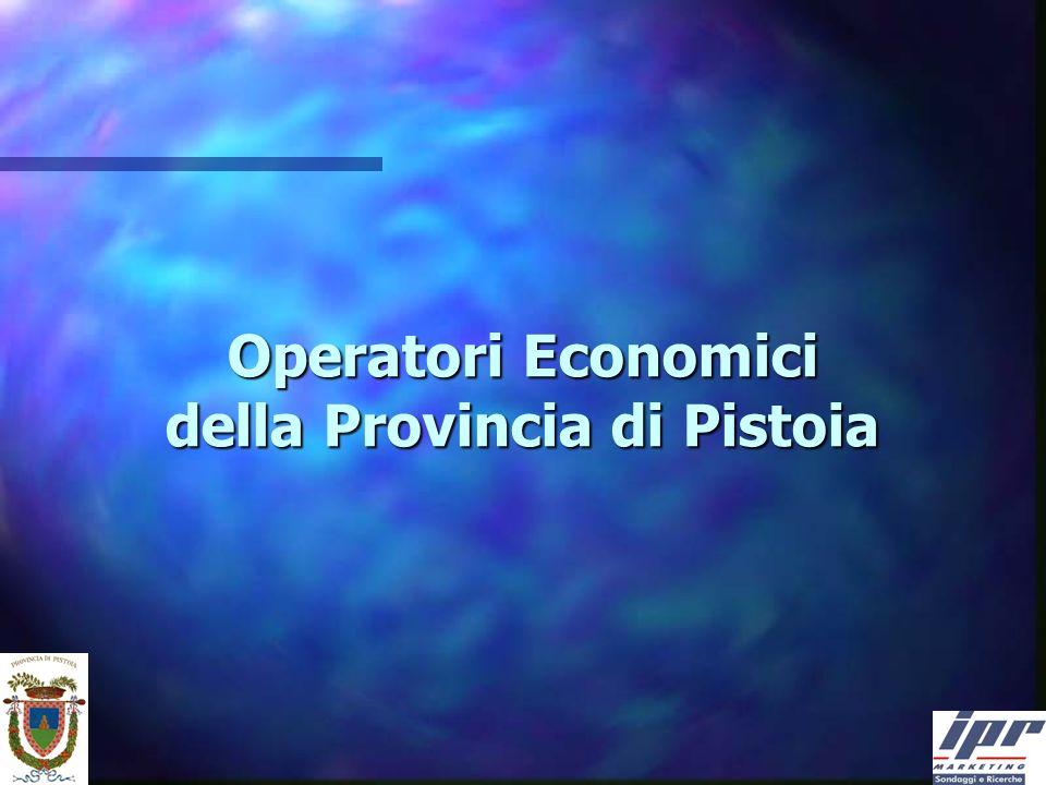 Operatori Economici della Provincia di Pistoia