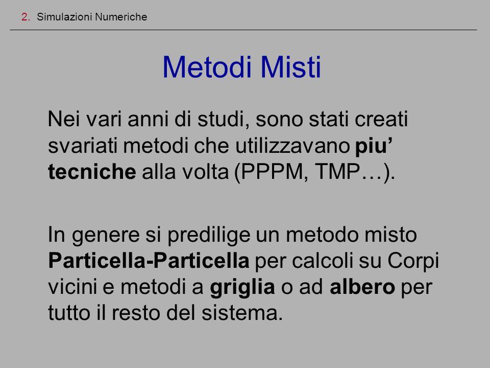 Nei vari anni di studi, sono stati creati svariati metodi che utilizzavano piu tecniche alla volta (PPPM, TMP…). In genere si predilige un metodo mist