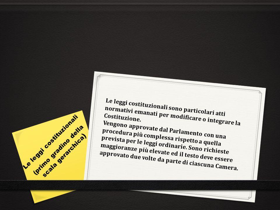 Abbiamo cinque fasi: 1.INIZIATIVA – il progetto di legge viene presentato al Parlamento 2.