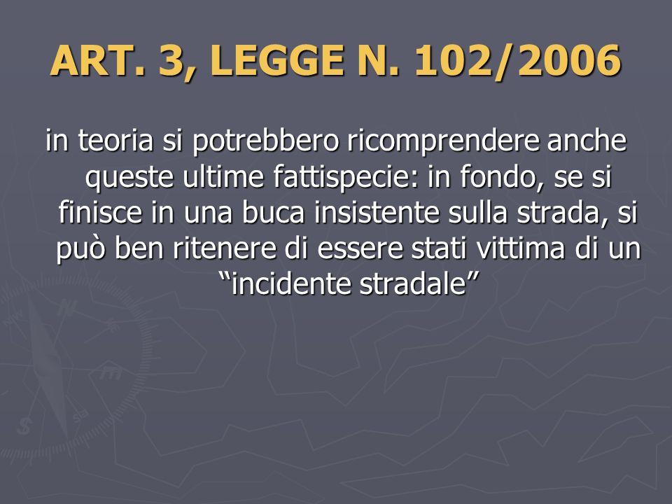 ART.3, LEGGE N.