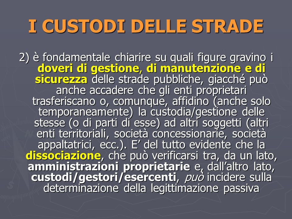 ADDIO ALLINSIDIA E TRABOCCHETTO Cass., Sez.III, 14 marzo 2006, n.