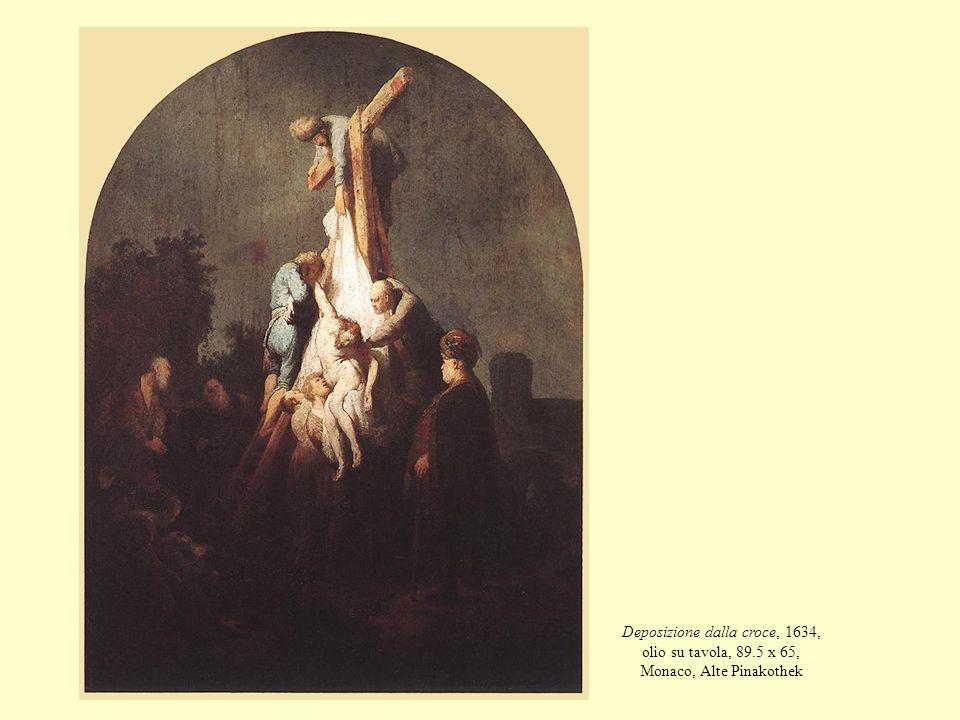 Deposizione dalla croce, 1634, olio su tavola, 89.5 x 65, Monaco, Alte Pinakothek