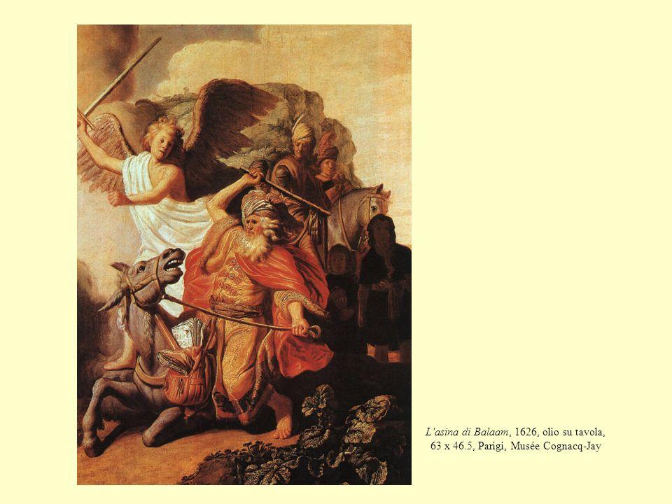 Lasina di Balaam, 1626, olio su tavola, 63 x 46.5, Parigi, Musée Cognacq-Jay