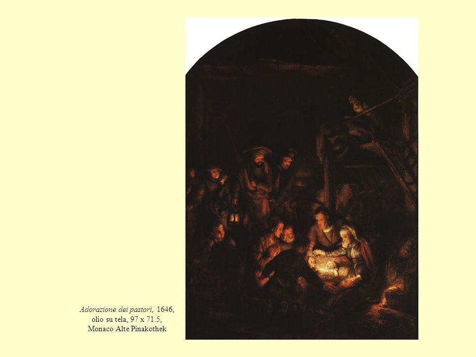Adorazione dei pastori, 1646, olio su tela, 97 x 71.5, Monaco Alte Pinakothek