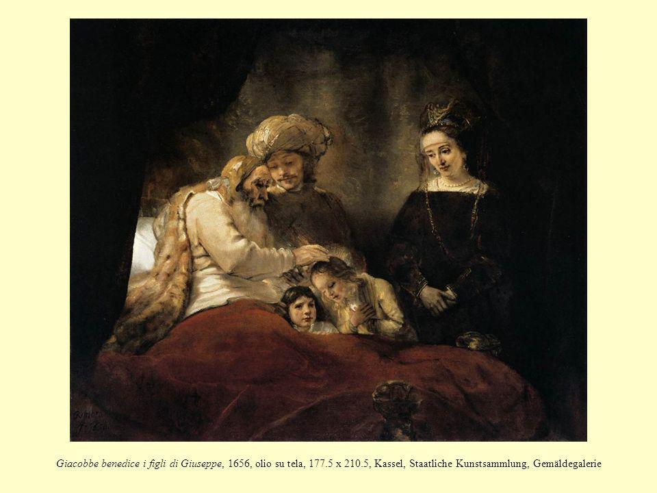 Giacobbe benedice i figli di Giuseppe, 1656, olio su tela, 177.5 x 210.5, Kassel, Staatliche Kunstsammlung, Gemäldegalerie