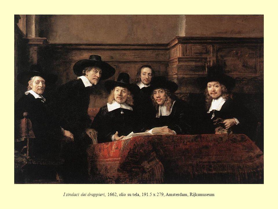 I sindaci dei drappieri, 1662, olio su tela, 191.5 x 279, Amsterdam, Rijksmuseum