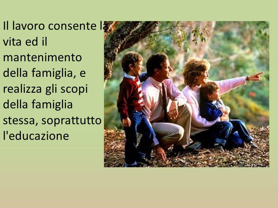 La forza della famiglia sta nel quotidiano e stabile rapporto io-tu che passa attraverso le relazioni vissute e favorisce la equilibrata crescita della persona