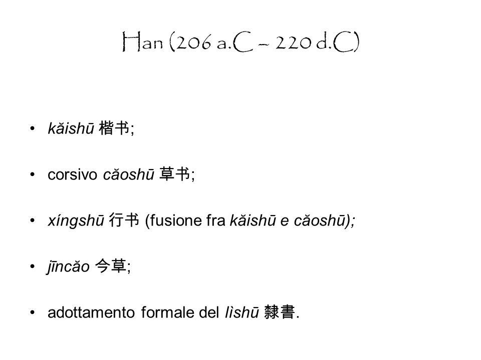 Qin: scrittura decorativa