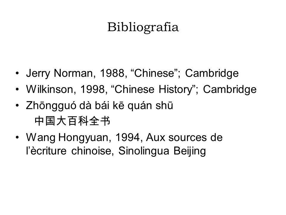 I dizionari dizionari antichi; dizionari moderni generali; dizionari del cinese classico; dizionari cinesi bilingui.