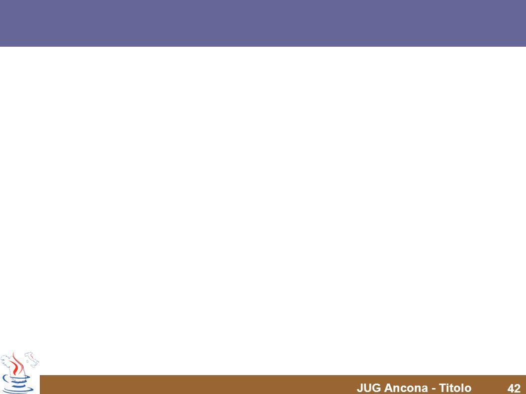 JUG Ancona - Titolo 42