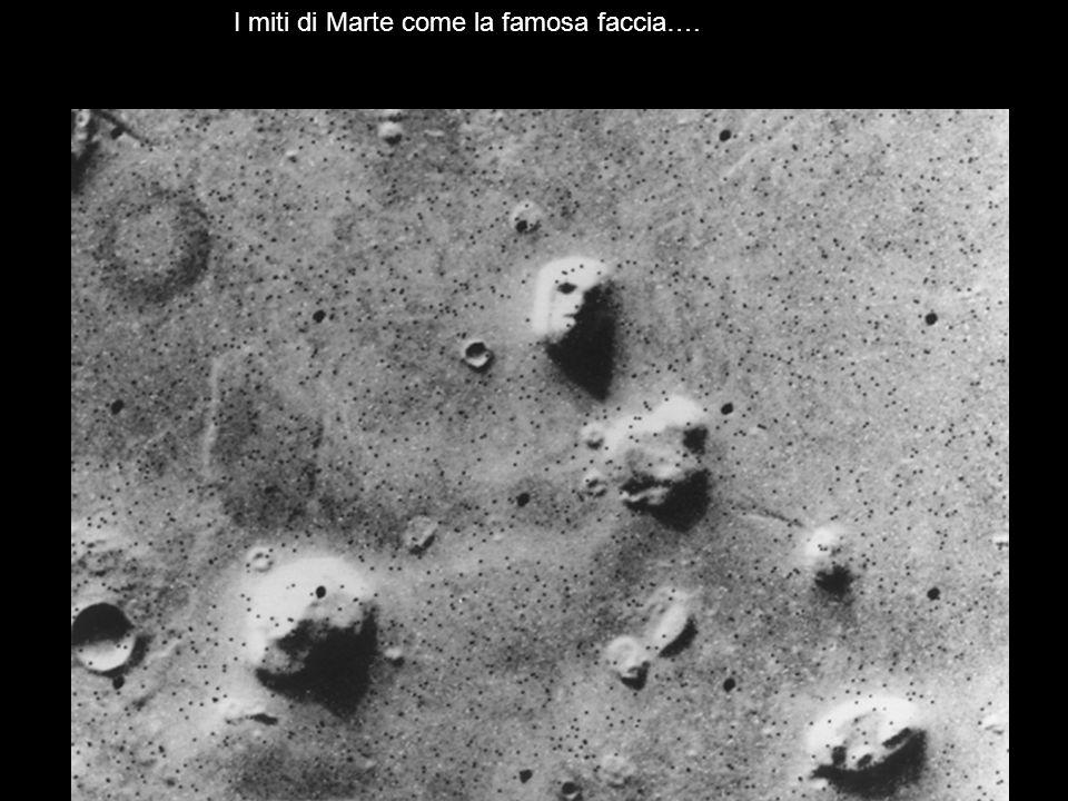 I miti di Marte come la famosa faccia….
