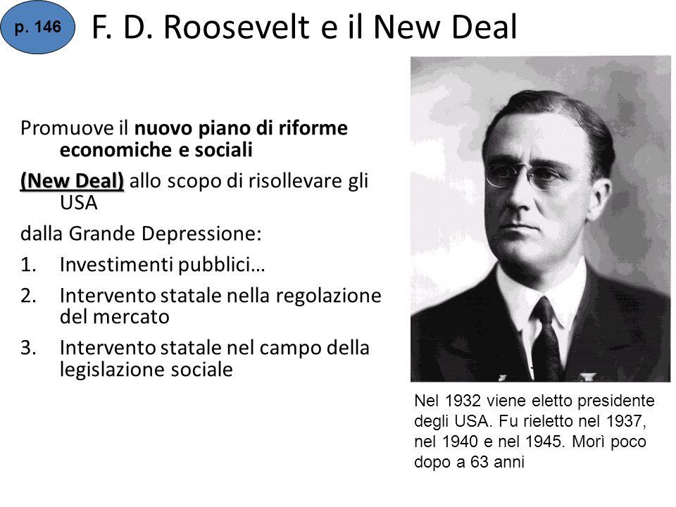 F.D. Roosevelt e il New Deal p.