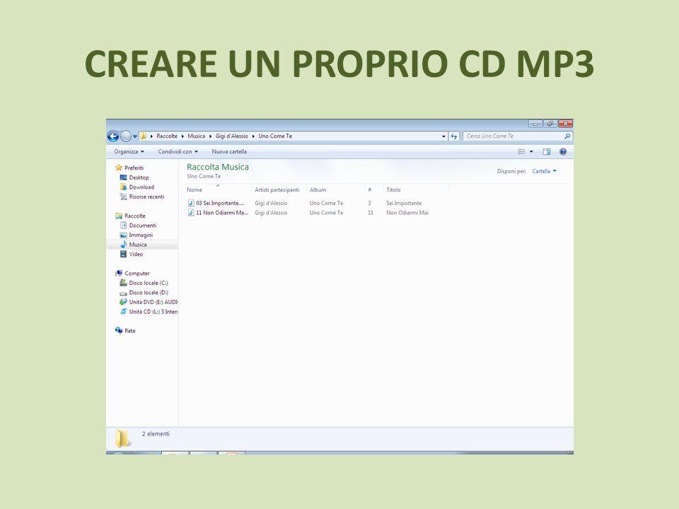 Creare un cd mp3 1.Se non lo avete già, scaricate dalla sezione Download del sito ufficiale il programma CDBurnerXP : http://cdburnerxp.se/http://cdburnerxp.se/ 2.Installatelo e avviatelo.