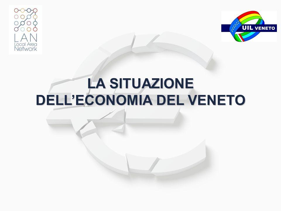 Elaborazioni su dati Intesa San Paolo 11 - La situazione delleconomia del Veneto IMPRESE 2/2 ANDAMENTO DEI DISTRETTI INDUSTRIALI DEL TRIVENETO