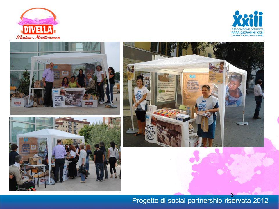 3 Progetto di social partnership riservata 2012