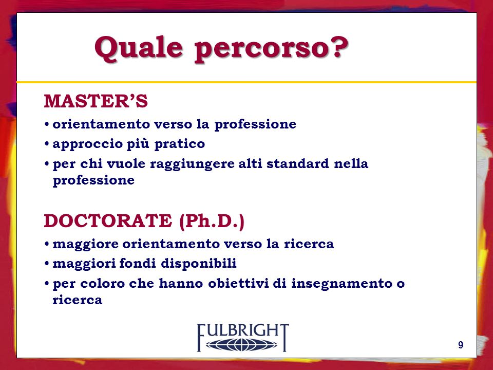 Come candidarsi : Self – Placed a.a.