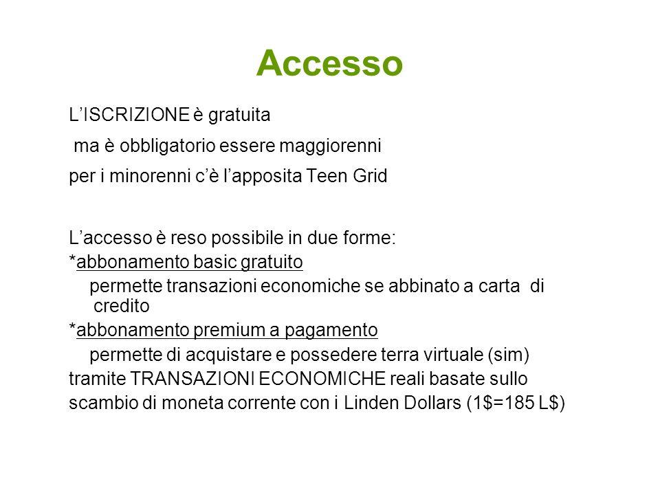 Accesso LISCRIZIONE è gratuita ma è obbligatorio essere maggiorenni per i minorenni cè lapposita Teen Grid Laccesso è reso possibile in due forme: *ab