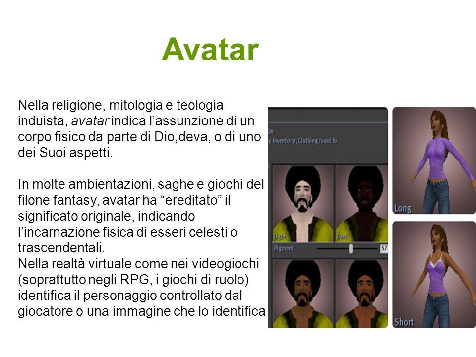 Nella religione, mitologia e teologia induista, avatar indica lassunzione di un corpo fisico da parte di Dio,deva, o di uno dei Suoi aspetti. In molte